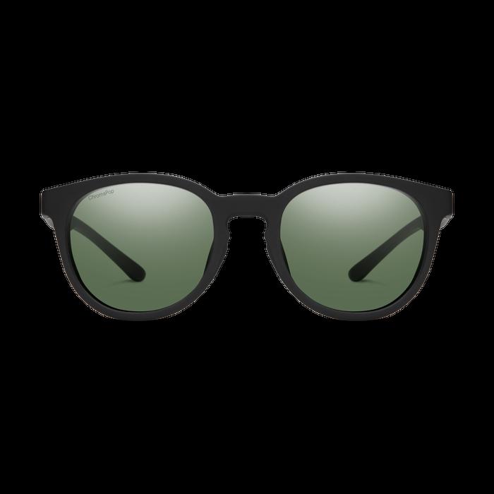 Eastbank Matte Black ChromaPop Polarized Gray Green