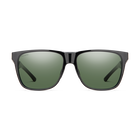 Lowdown Steel XL Black ChromaPop Polarized Gray Green