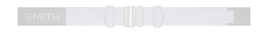 I/O MAG Low Bridge Fit, White Vapor, strap