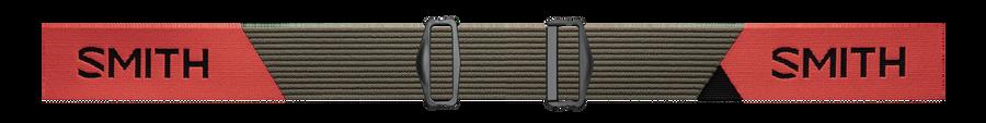 Squad MTB, Sage - Red Rock, strap