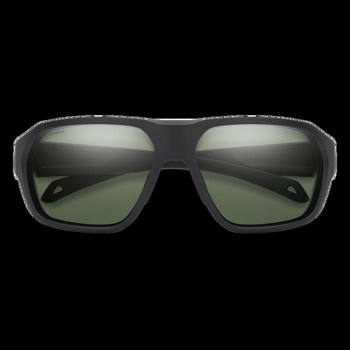Deckboss Matte Black ChromaPop Polarized Gray Green