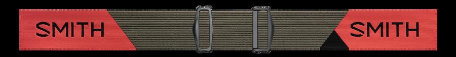 Squad XL MTB, Sage - Red Rock, strap
