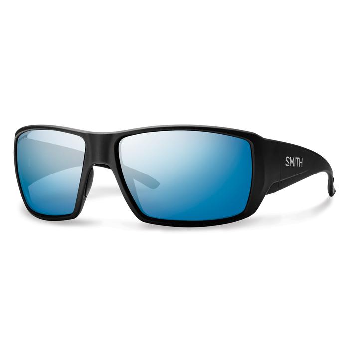 Guide's Choice Matte Black ChromaPop+ Polarized Blue Mirror