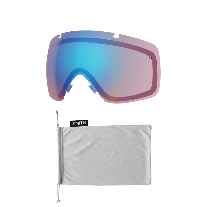 I/O White Vapor ChromaPop Sun Platinum Mirror