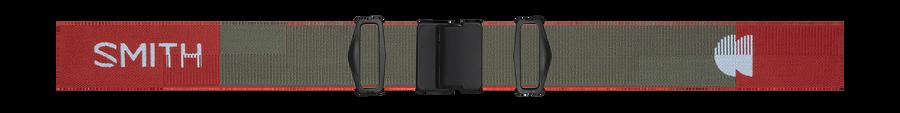 4D MAG Low Bridge Fit, Clay Red Landscape, strap