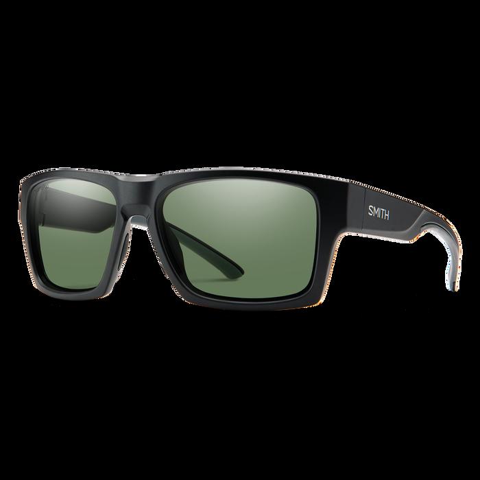 Outlier XL 2 Matte Black ChromaPop Polarized Gray Green