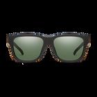 Lowdown Slim 2 Matte Black ChromaPop Polarized Gray Green