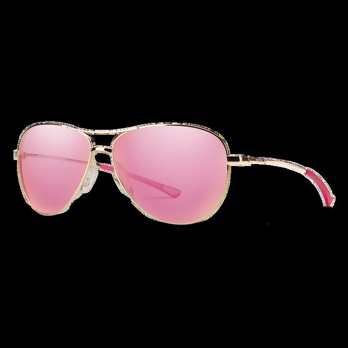 Langley Gold Pink Mirror