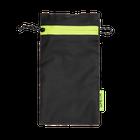 Premium Sunglass Pouch, Black Grid, hi-res