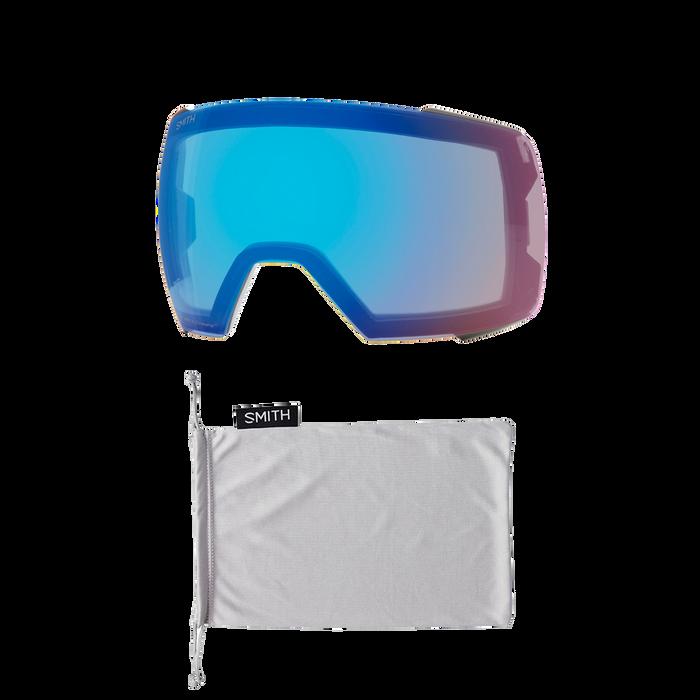 I/O MAG XL Asia Fit Cloudgrey ChromaPop Sun Platinum Mirror