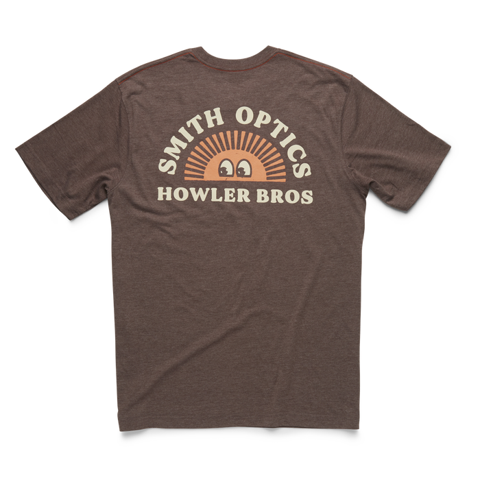 Smith x Howler Brothers Select Tee, Howler Brothers Brown, hi-res