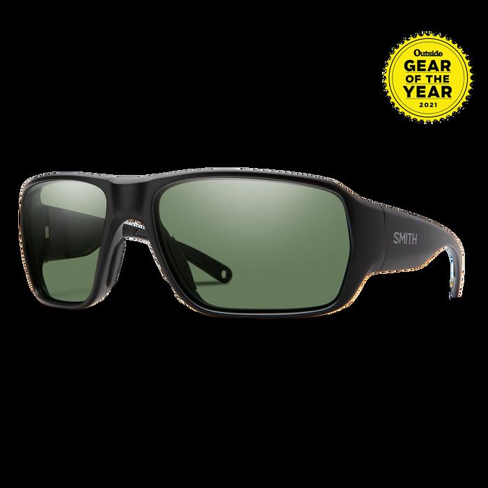 Castaway Matte Black ChromaPop+ Polarized Gray Green