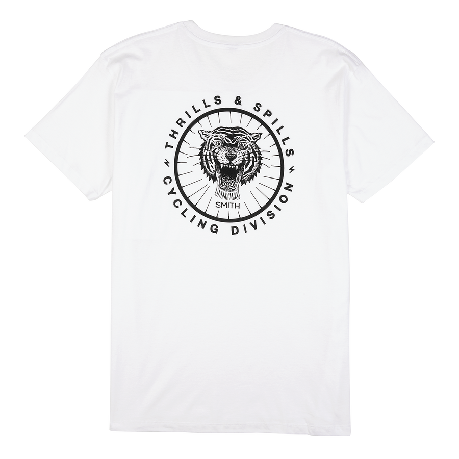 Thrills and Spills Tee small White