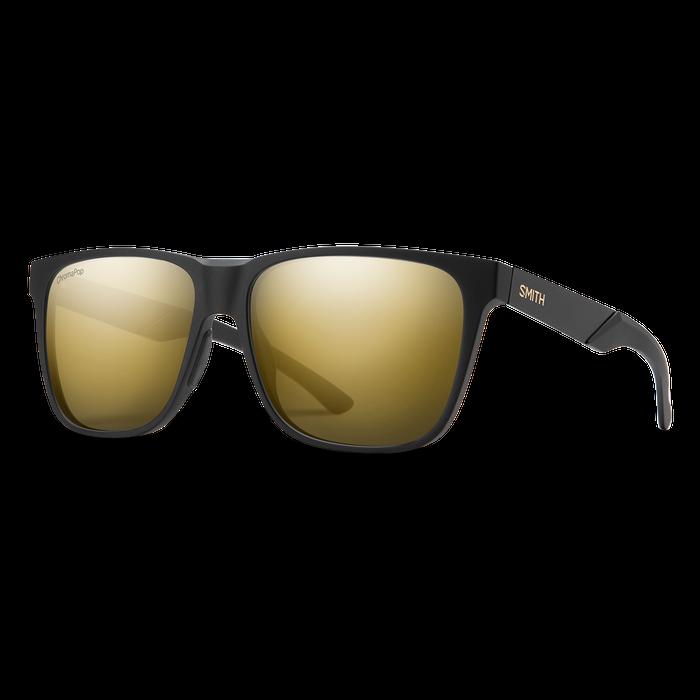 Lowdown Steel XL Matte Black Gold ChromaPop Polarized Black Gold