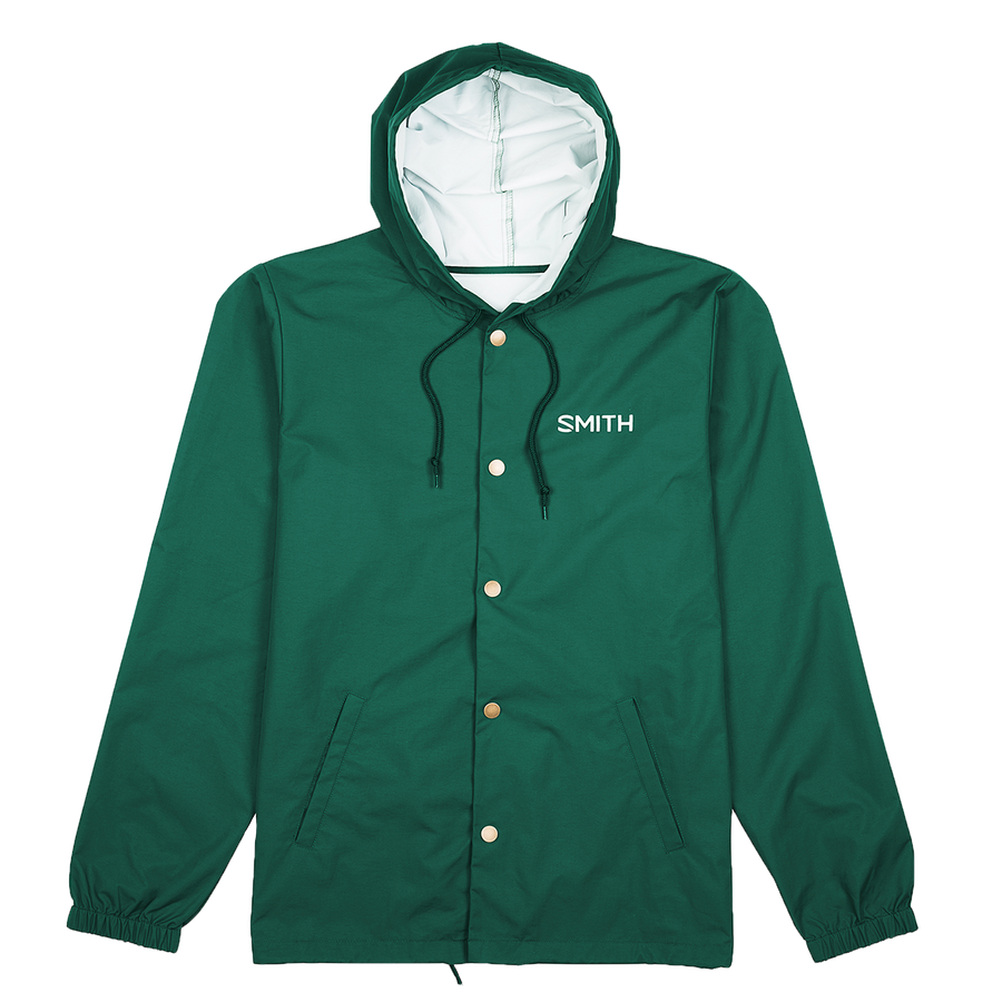 Hooded Coach's Jacket forestGreen primary image