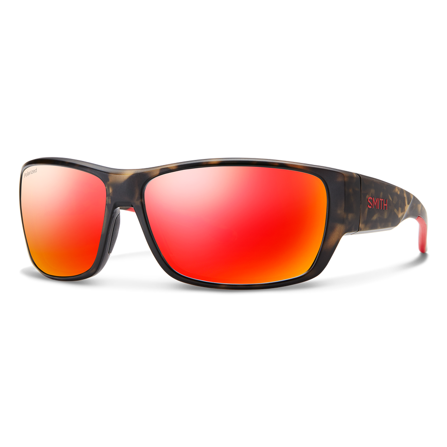Forge Matte Camo Polarized Red Mirror