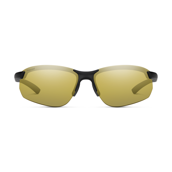 Parallel MAX 2 Matte Black Polarized Gold Mirror