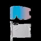 Squad XL Asia Fit Rock Salt - Tannin ChromaPop Sun Platinum Mirror