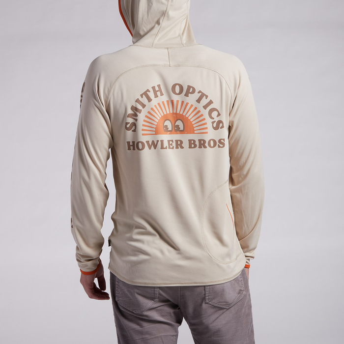 Smith x Howler Brothers Loggerhead Hoodie, Howler Brothers Tan, hi-res