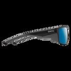 Freespool MAG Matte Black ChromaPop+ Polarized Blue Mirror