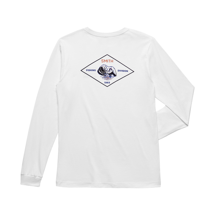 Fishing Division Long Sleeve White