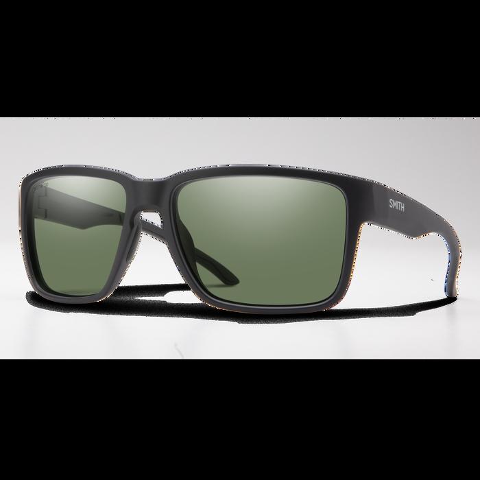 Emerge Matte Black ChromaPop Polarized Grey Green