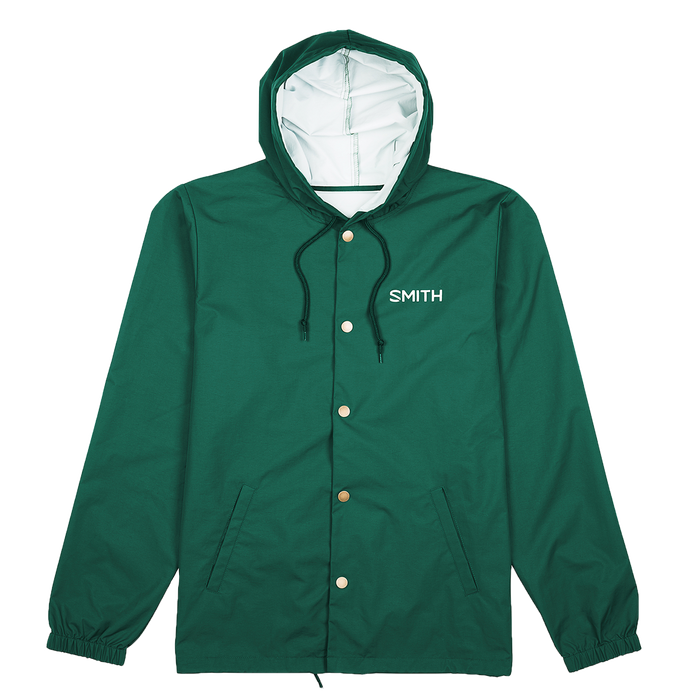 Hooded Coach's Jacket medium Forest Green