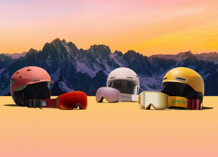 Smith Landscape snow goggle and snow helmet collection